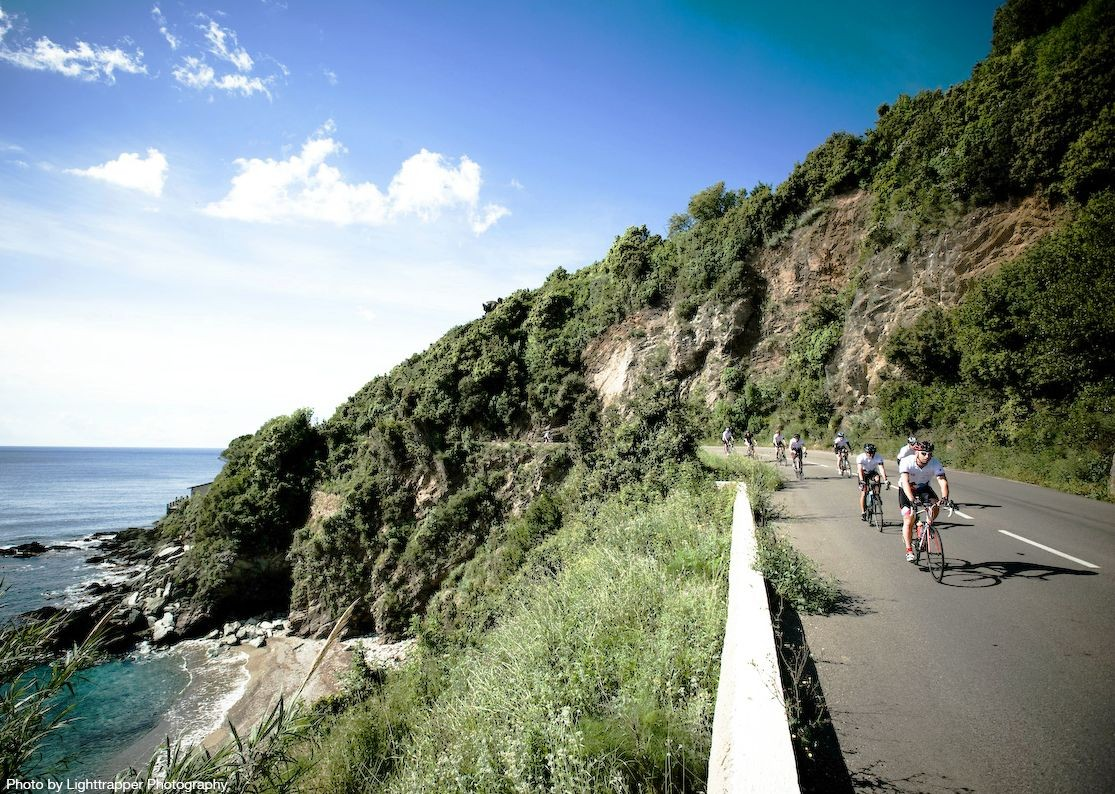 road-cycling-holiday-in-france-corsica-group-cycling.jpg - France - Corsica - Southern Secrets - Guided Road Cycling Holiday - Road Cycling