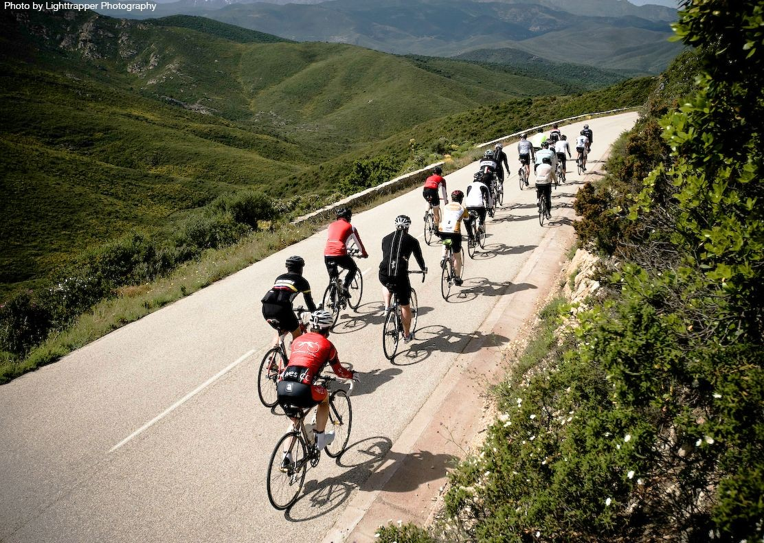 guided-road-cycling-holiday-in-france-in-corsica-group-cycling.jpg - France - Corsica - Southern Secrets - Guided Road Cycling Holiday - Road Cycling