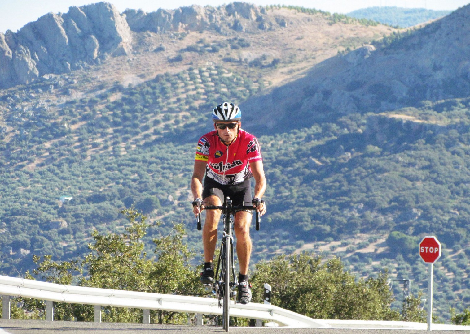 southern-spain-andalucia-cape-to-cape-traverse-guided-road-cycling-holiday-Tabernas-desert.jpg - Southern Spain - Andalucia - Cape to Cape Traverse - Guided Road Cycling Holiday - Road Cycling