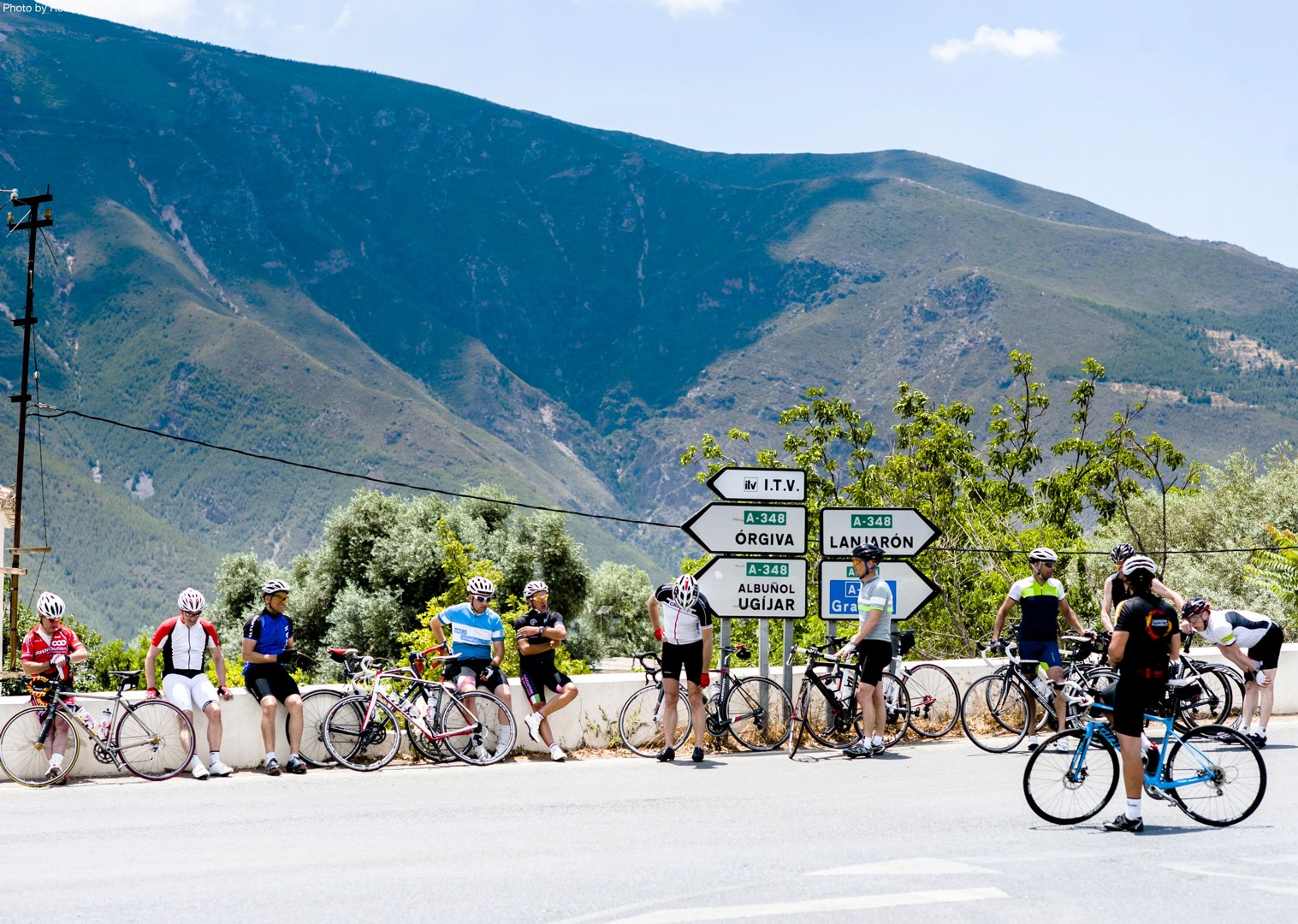 Guided-road-cycling-holiday-cape-to-cape-traverse-andalucia-spain-Grazalema.jpg - Southern Spain - Andalucia - Cape to Cape Traverse - Guided Road Cycling Holiday - Road Cycling