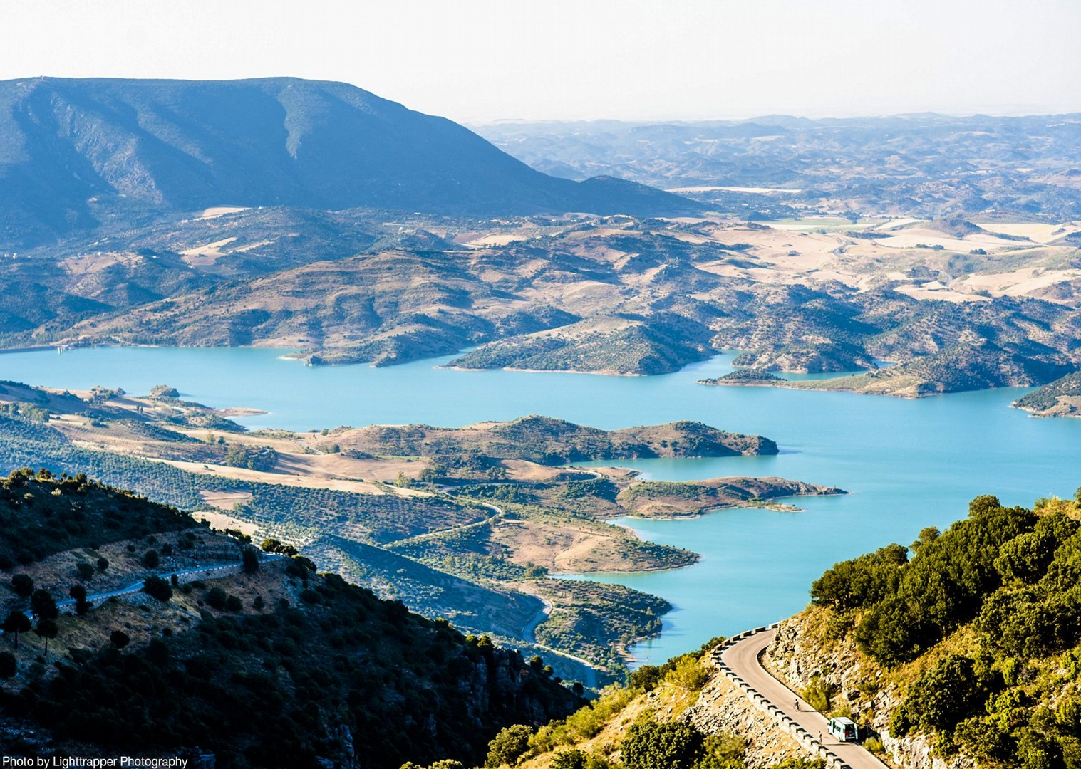mountains-roads-of-ronda-scenery-cycling-tour-spain.jpg - Southern Spain - Roads of Ronda - Guided Road Cycling Holiday - Road Cycling
