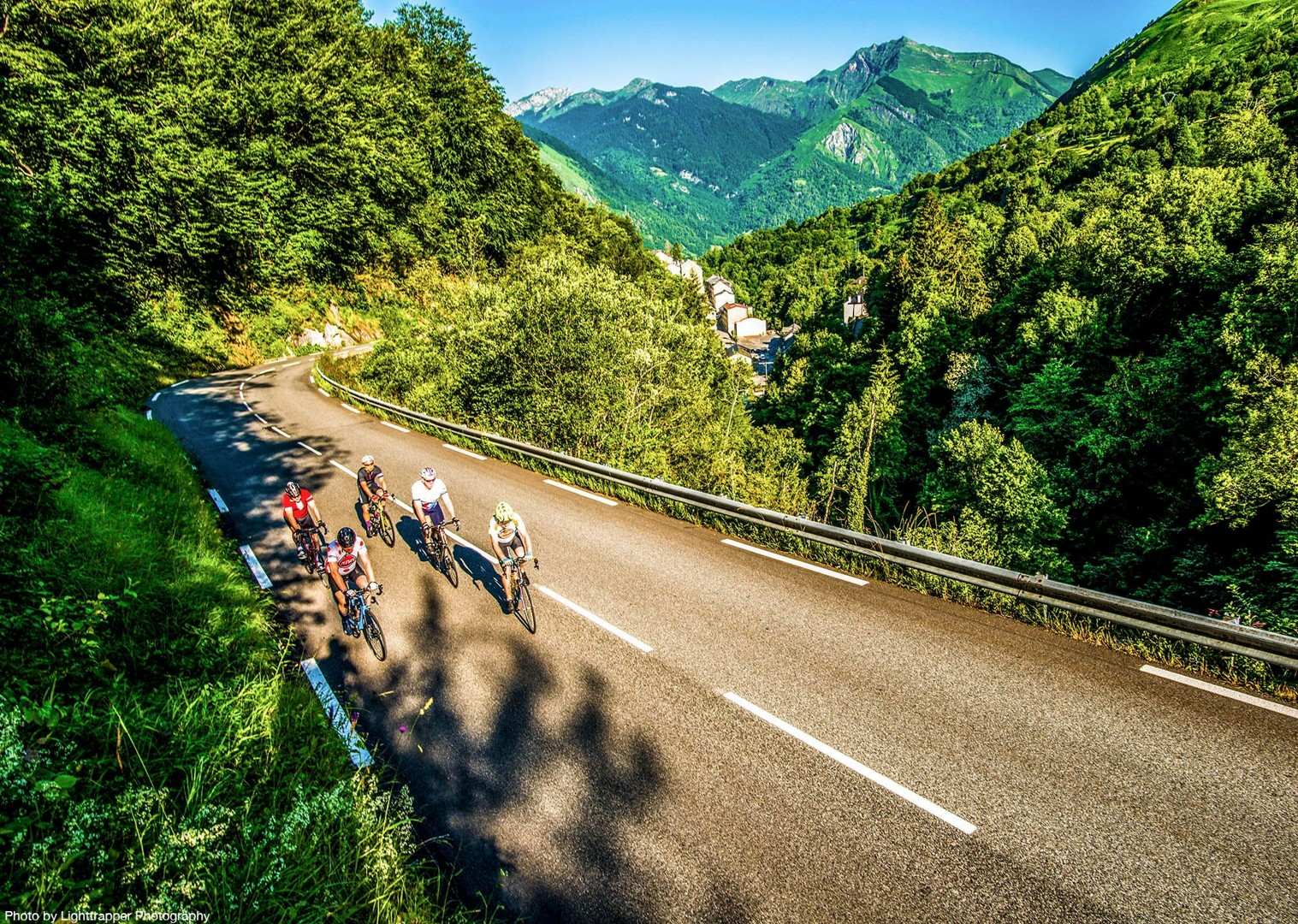 group-road-cycling-guided-challenge-in-french-pyrenees.jpg - France - Pyrenees Fitness Week (Grade 3-4) - Guided Road Cycling Holiday - Road Cycling