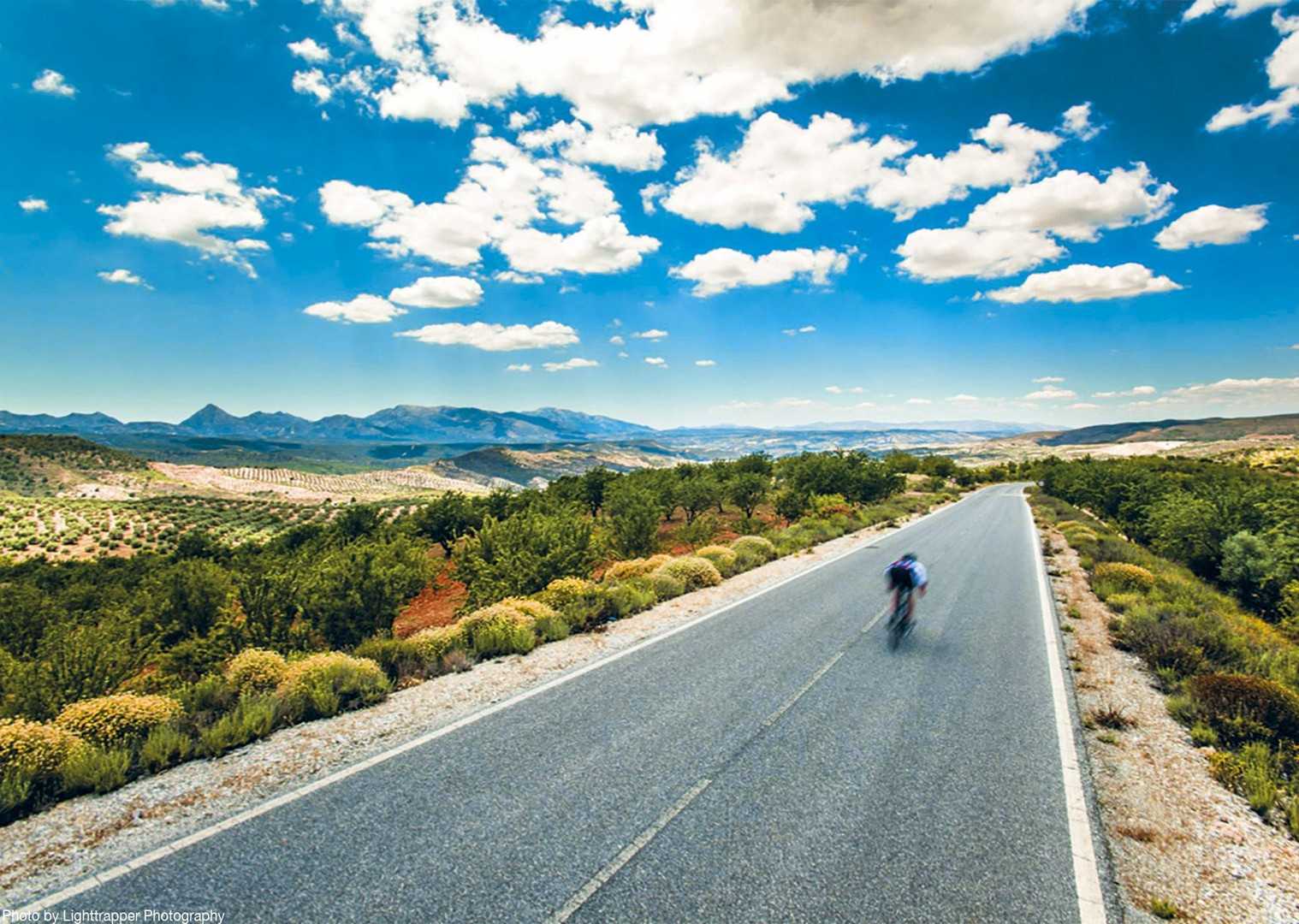 southern-spain-road-cycling-smooth-tarmac-incredible-views.jpg - Southern Spain - Andalucia - Los Pueblos Blancos - Self-Guided Road Cycling Holiday - Road Cycling