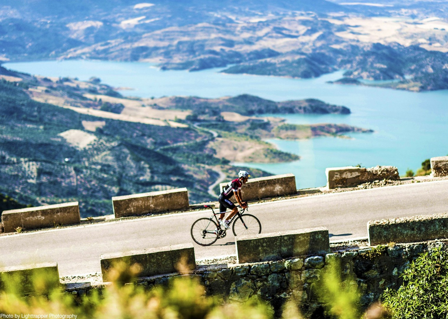 road-cycling-spain-puert-de-las-palomas-self-guided-cycling-tour.jpg - Southern Spain - Andalucia - Los Pueblos Blancos - Self-Guided Road Cycling Holiday - Road Cycling