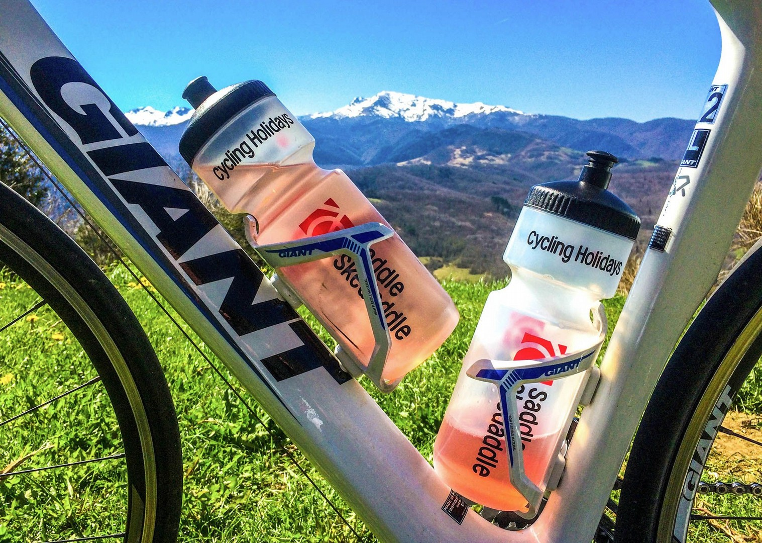 saddle-skedaddle-cycling-holidays-scenery-bike-drinks-water-bottle.jpg - France - Pyrenees Fitness Week (Grade 2-3) - Guided Road Cycling Holiday - Road Cycling