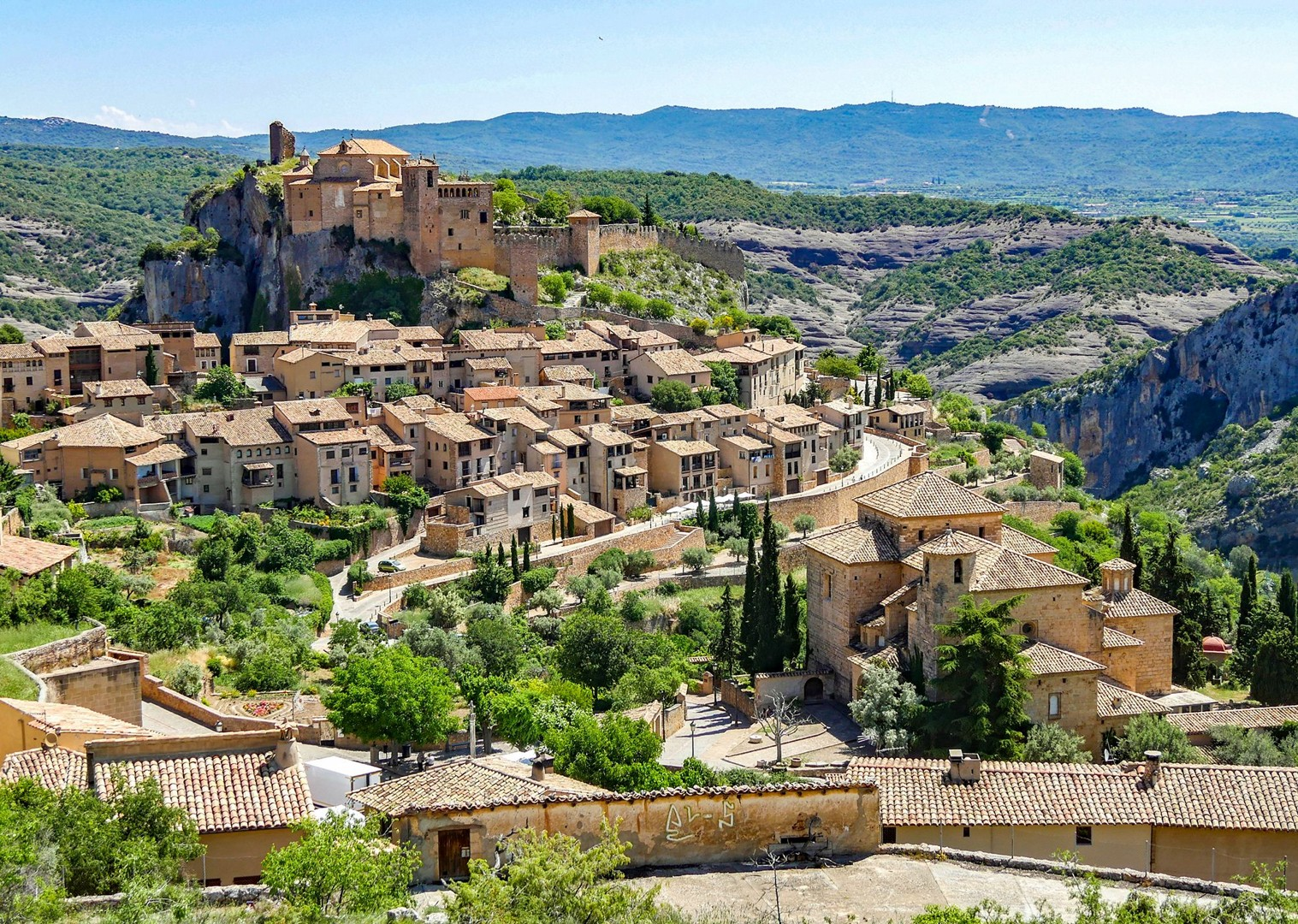 spanish-villages-in-the-north-guided-cycling-holiday-with-saddle-skedaddle.jpg - Northern Spain - Bilbao to Barcelona - Guided Road Cycling Holiday - Road Cycling