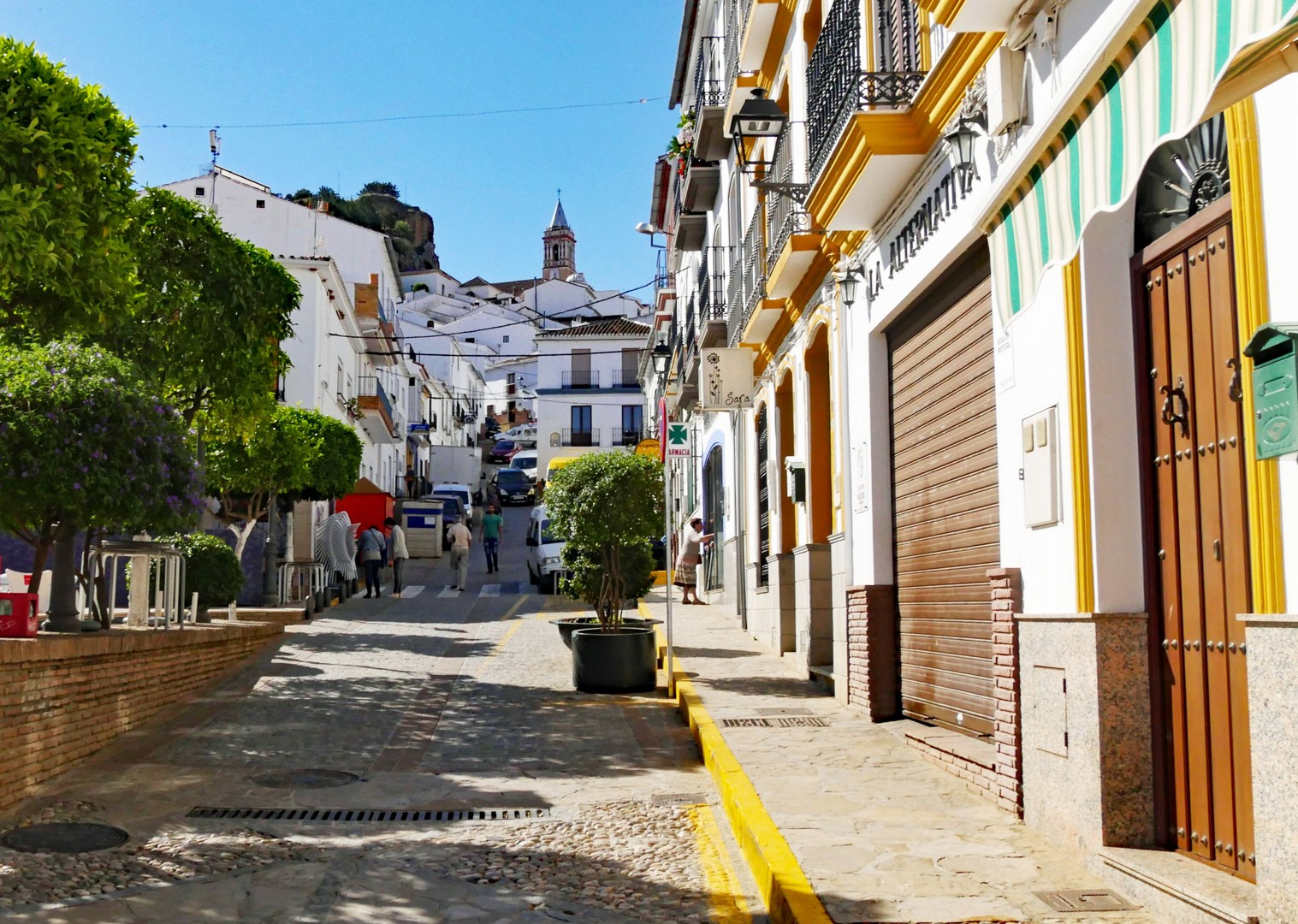 cobbled-street-ronda-road-cycling-trip.jpg - Spain - Basque Country to Andalucia - North to South - 16 Day - Guided Road Cycling Holiday - Road Cycling