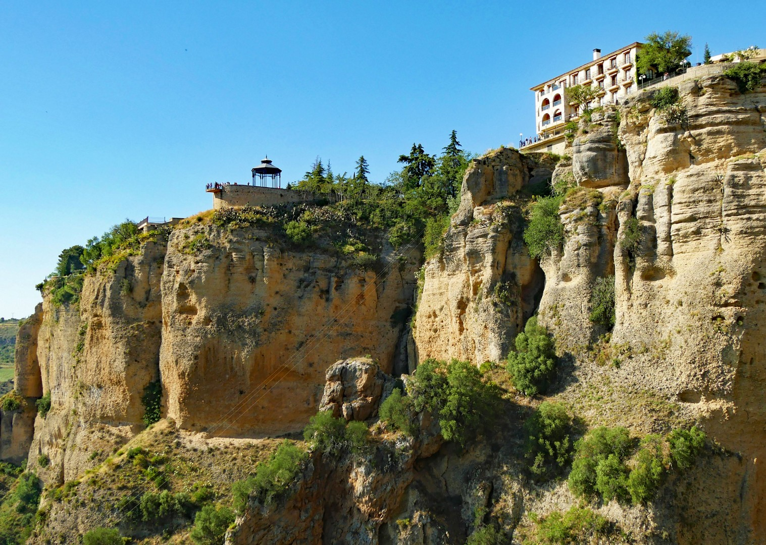 views-of-ronda-road-cycling-trip-spain.jpg - Spain - Basque Country to Andalucia - North to South - 16 Day - Guided Road Cycling Holiday - Road Cycling