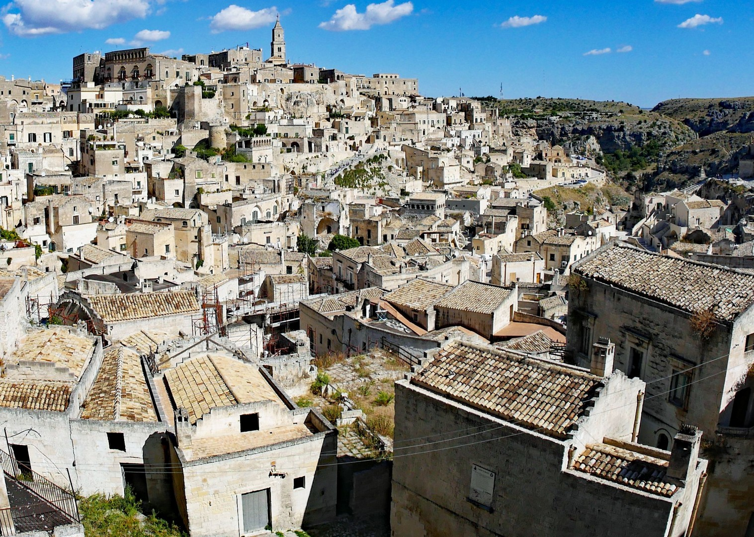 matera-panorama-north-south-cycling.jpg - Italy - Grand Traverse - North to South (17 days) - Guided Road Cycling Holiday - Road Cycling
