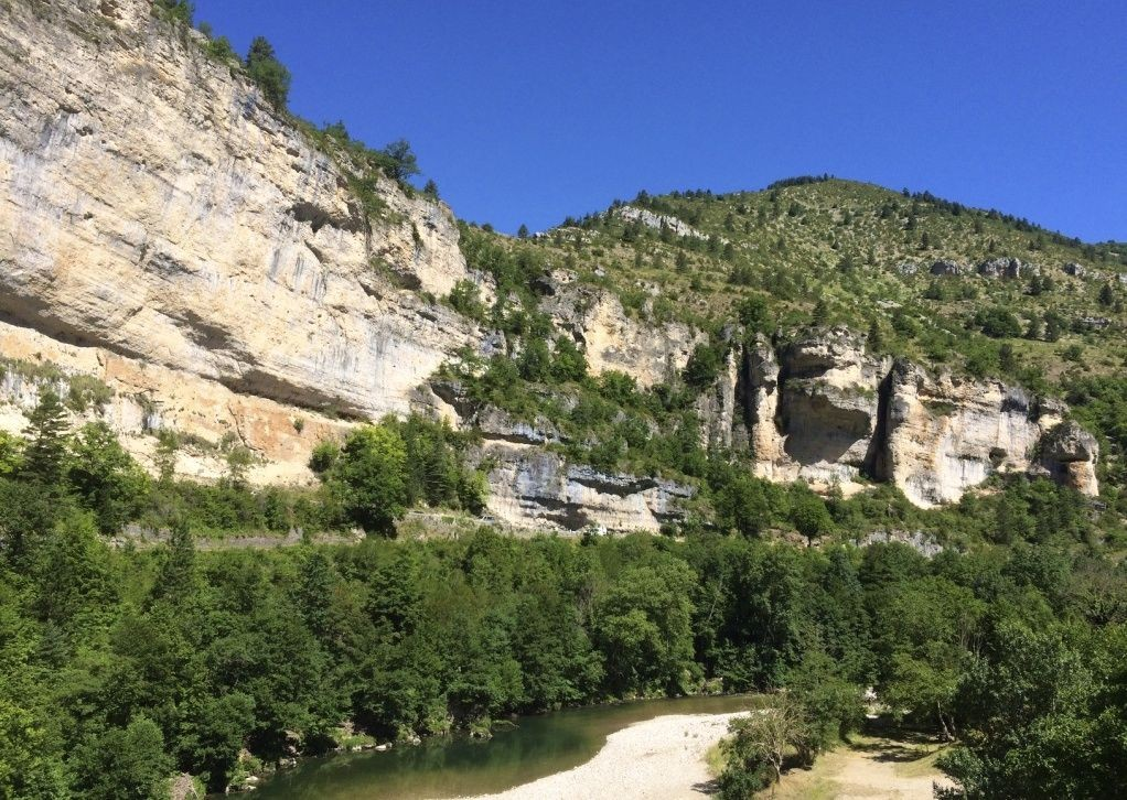 ardeche-carcassonne-canyon-nature.jpg - France - Ardeche to Carcassonne - Guided Road Cycling Holiday - Road Cycling