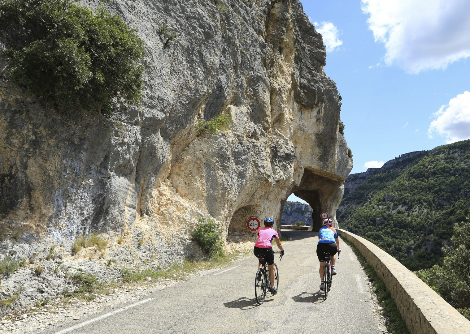 france-ardeche-canyon.jpg - France - Ardeche to Carcassonne - Guided Road Cycling Holiday - Road Cycling