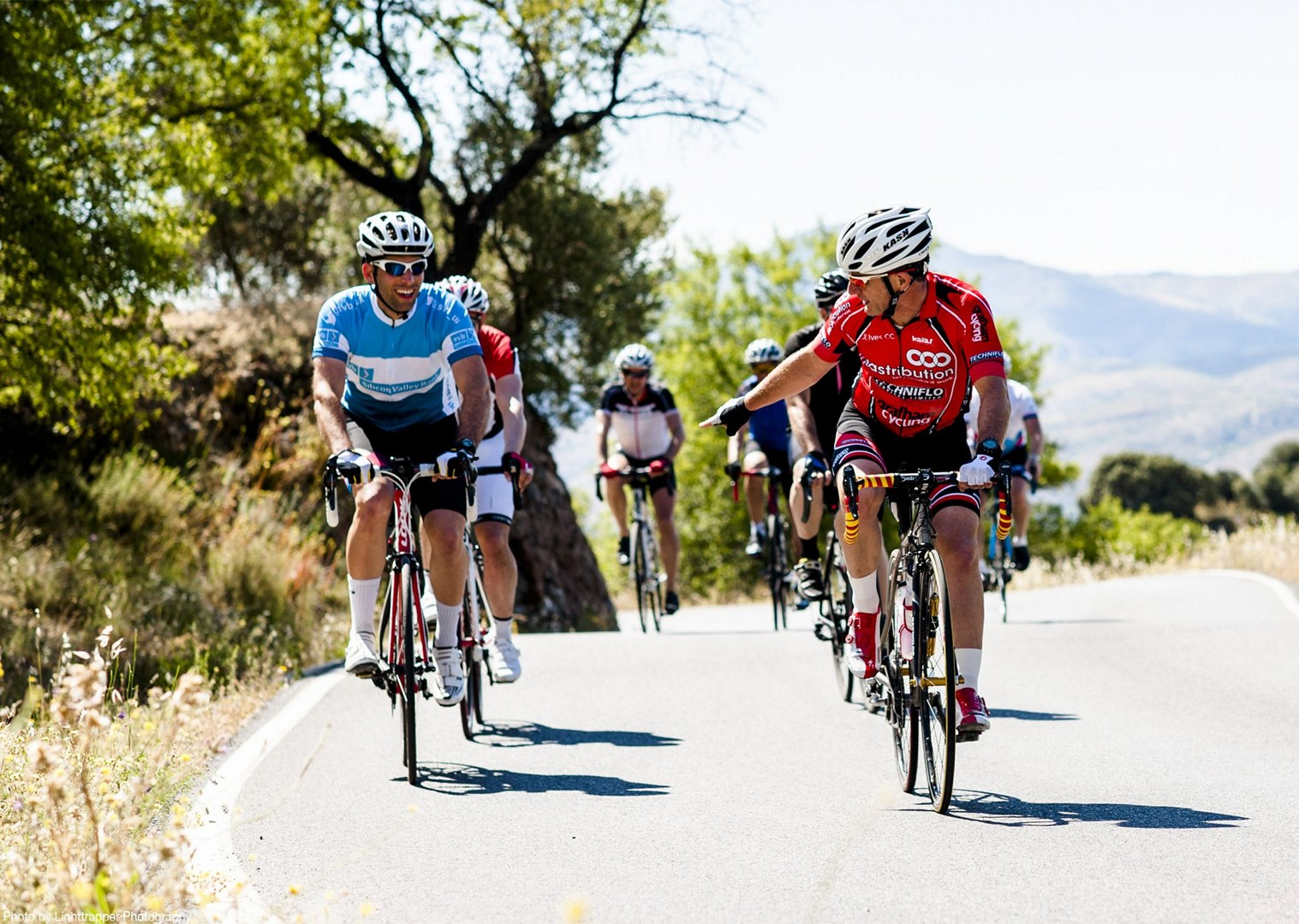 group-road-cycling-friends-spain-saddle-skedaddle.jpg - Southern Spain - Andalucia - Los Pueblos Blancos - Road Cycling
