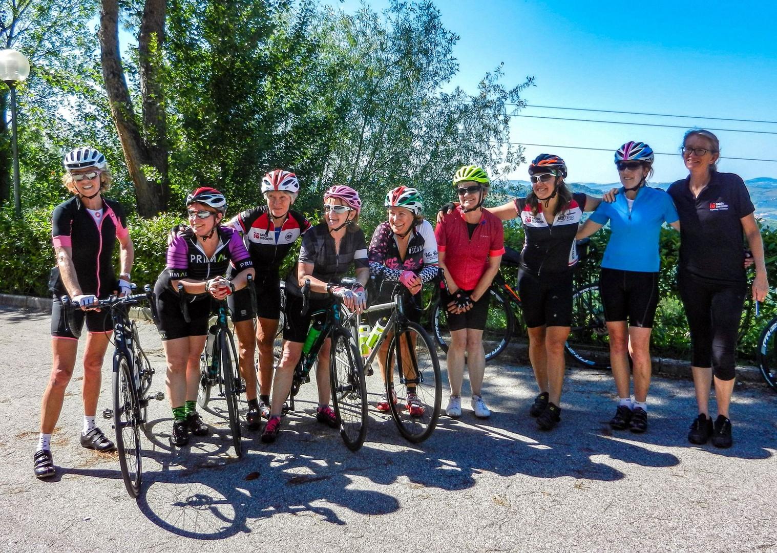 group-road-cycling-holiday-guided-italy-coast-to-coast.jpg - NEW! Italy - Coast to Coast - L'Adriatico al Tirreno - Road Cycling
