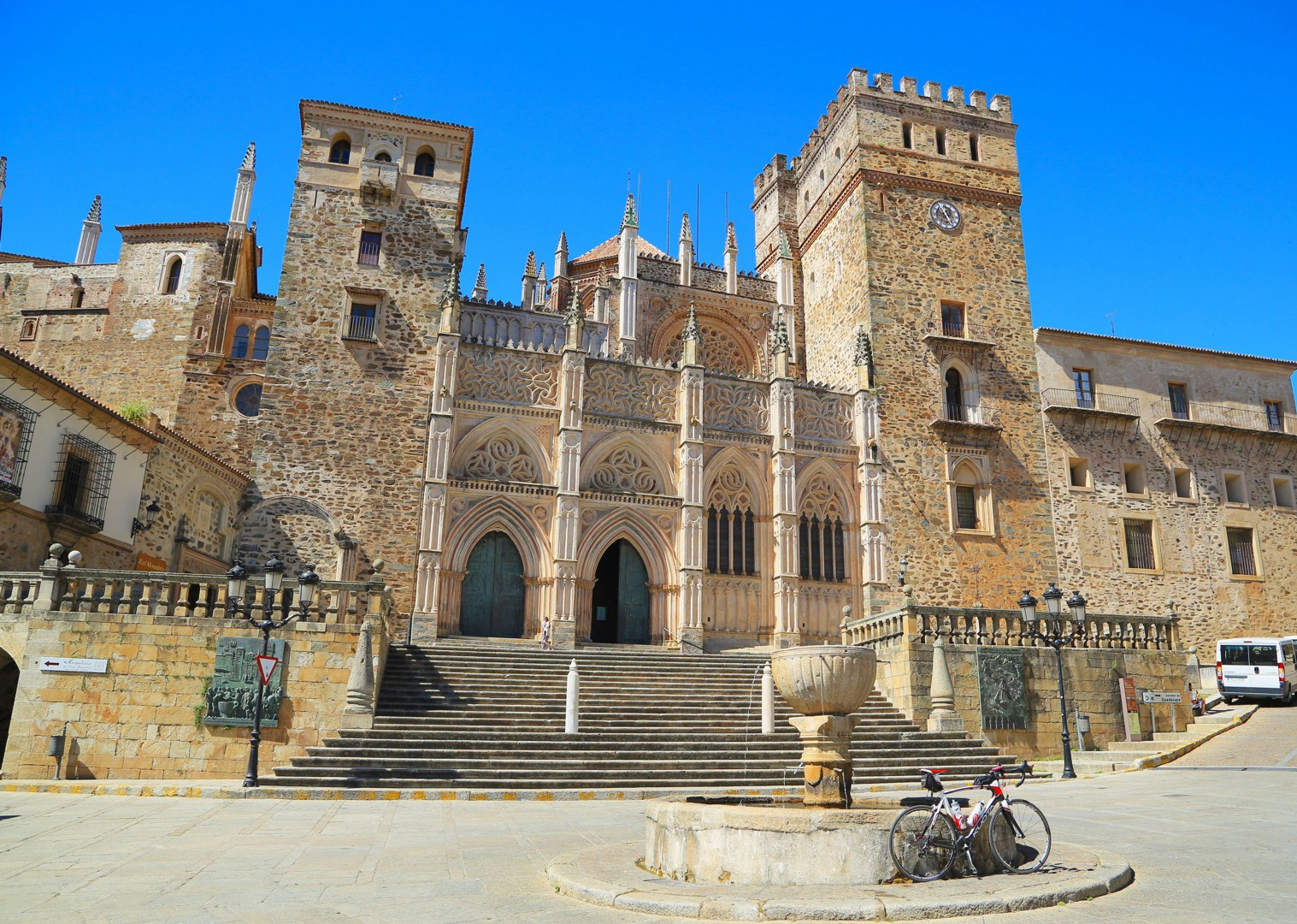 visit-guadaloupe-road-cycling-holiday-spain.jpg - Spain - Basque Country to Andalucia - North to South - 21 Day - Guided Road Cycling Holiday - Road Cycling