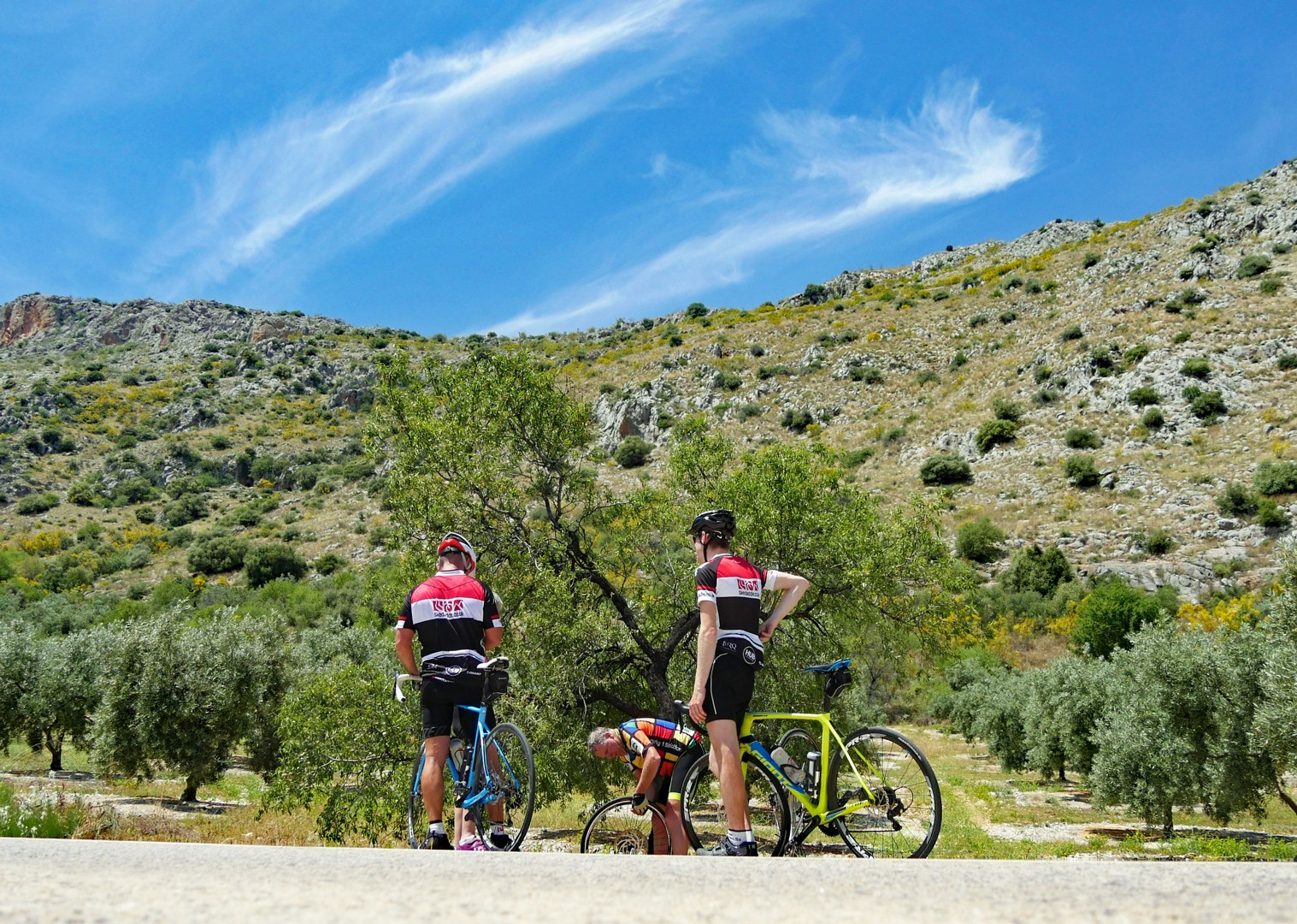 scenic-road-cycling-basque-country.jpg - Spain - Basque Country to Andalucia - North to South - 21 Day - Guided Road Cycling Holiday - Road Cycling