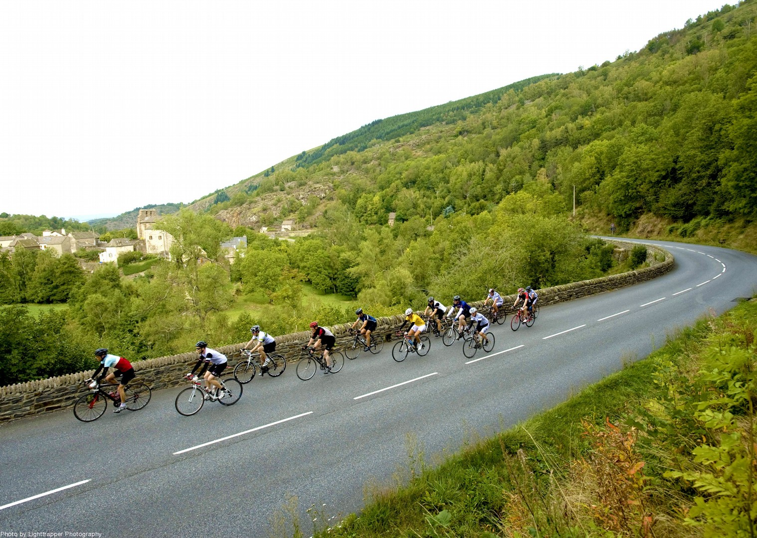 vosages-foothills-bike-saddle-skedaddle-cycling-road.jpg - France - Alsace, Burgundy and Beaujolais - Guided Road Cycling Holiday - Road Cycling