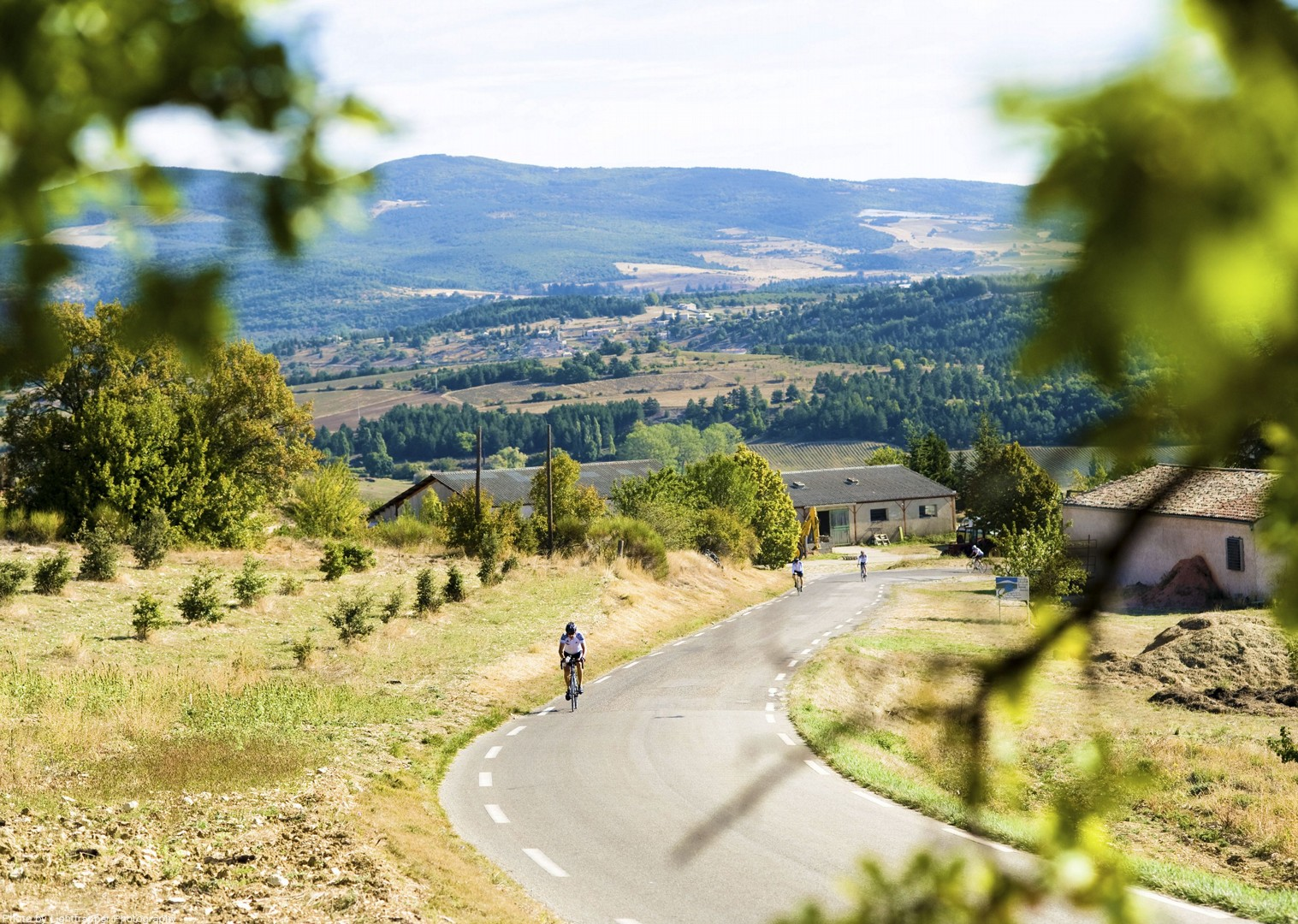 hills-of-beaujolais-france-road-holiday-bikes.jpg - France - Alsace, Burgundy and Beaujolais - Guided Road Cycling Holiday - Road Cycling