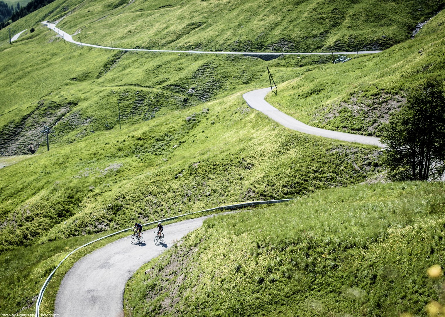 downhill-ride-on-bike-climbs-france-holiday.jpg - France - Provence - Alpes Maritimes - Guided Road Cycling Holiday - Road Cycling