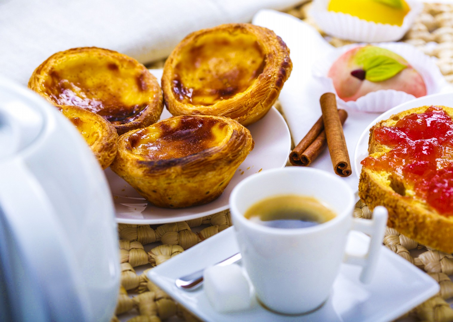 local-delicacies-portugal-pastel-de-nata-food-cycling-tour.jpg - Portugal - Port and Wine - Guided Leisure Cycling Holiday - Leisure Cycling