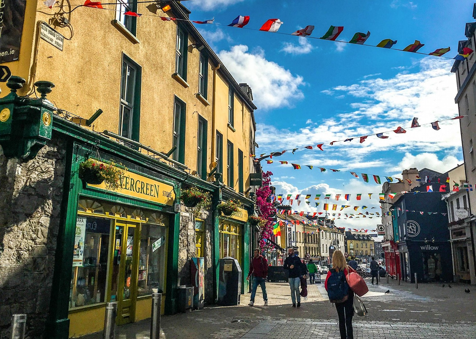 irish-town-leisure-cycling-holiday-in-ireland-self-guided-trip.jpg - NEW! Ireland - Connemara and the Aran Isles - Leisure Cycling