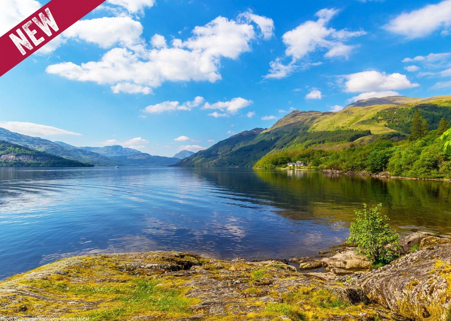 loch-lomond-scotland-uk-cycling-holiday-fun-lake.jpg - NEW! UK - Scotland - Lochs and Glens - Guided Leisure Cycling Holiday - Leisure Cycling