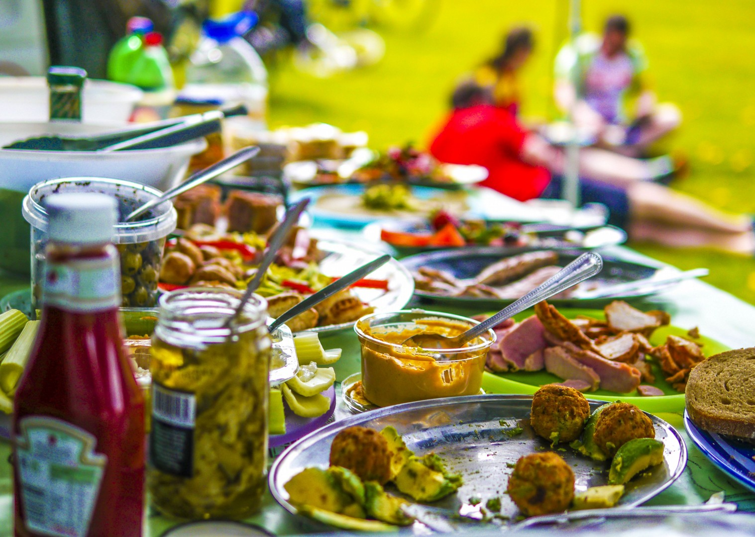 amazing-food-lunches-uk-cycling-holiday-skedaddle-tour-c2c.jpg - NEW! UK - Scotland - Lochs and Glens - Guided Leisure Cycling Holiday - Leisure Cycling