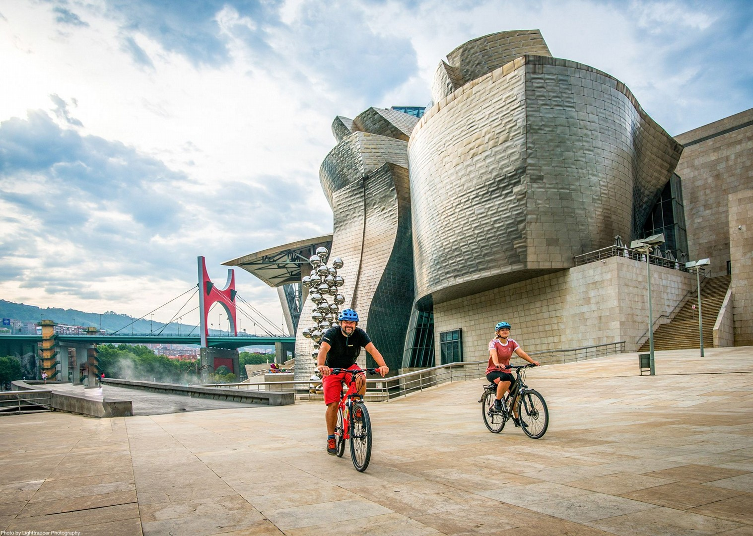 bilbao-guggenheim-cycling-holiday-in-spain-saddle-skedaddle.jpg - NEW! Spain - Bilbao to San Sebastian - Leisure Cycling
