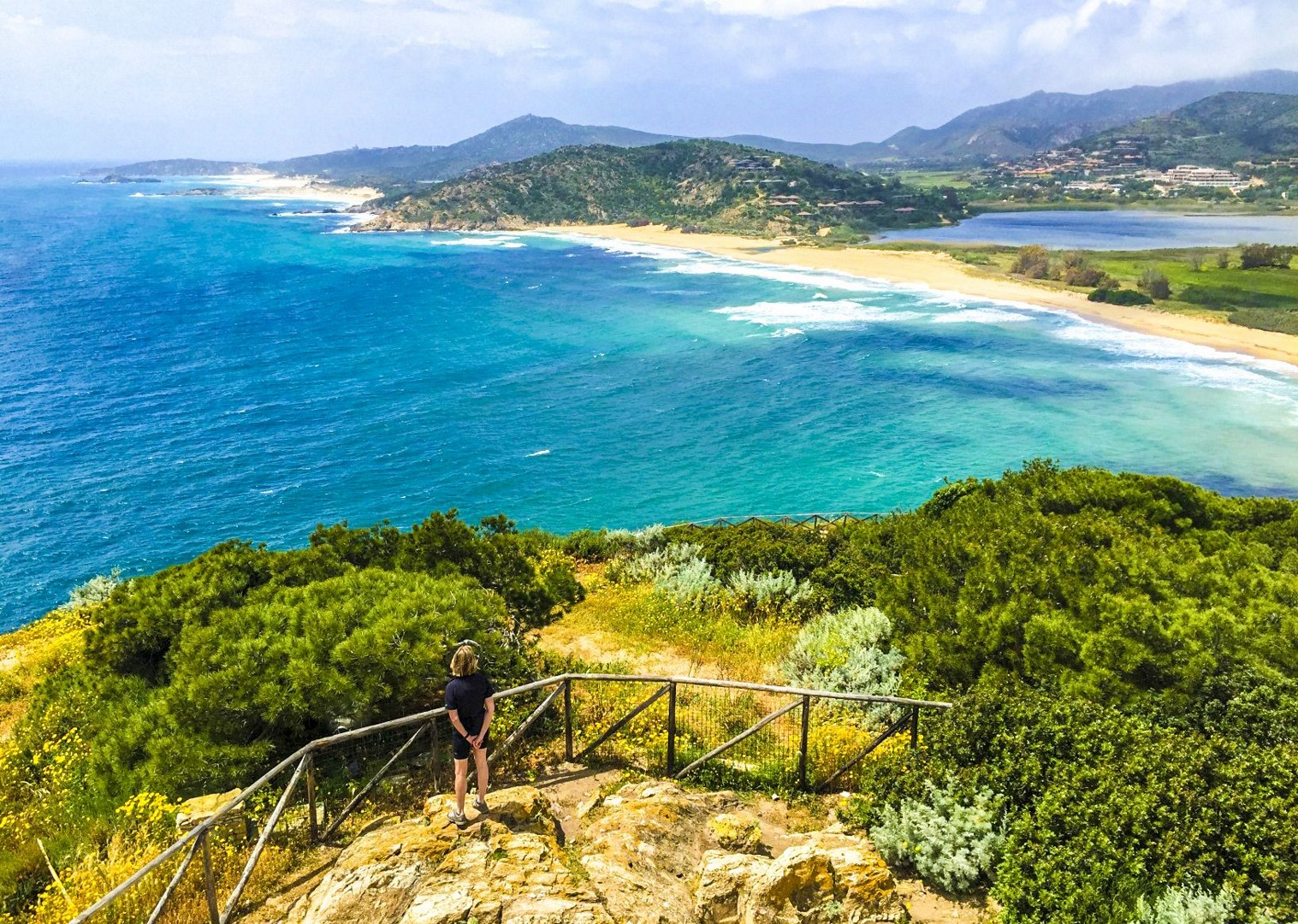From Chia Towerjpg-2.jpg - Italy - Sardinia - Island Flavours - Guided Leisure Cycling Holiday - Leisure Cycling