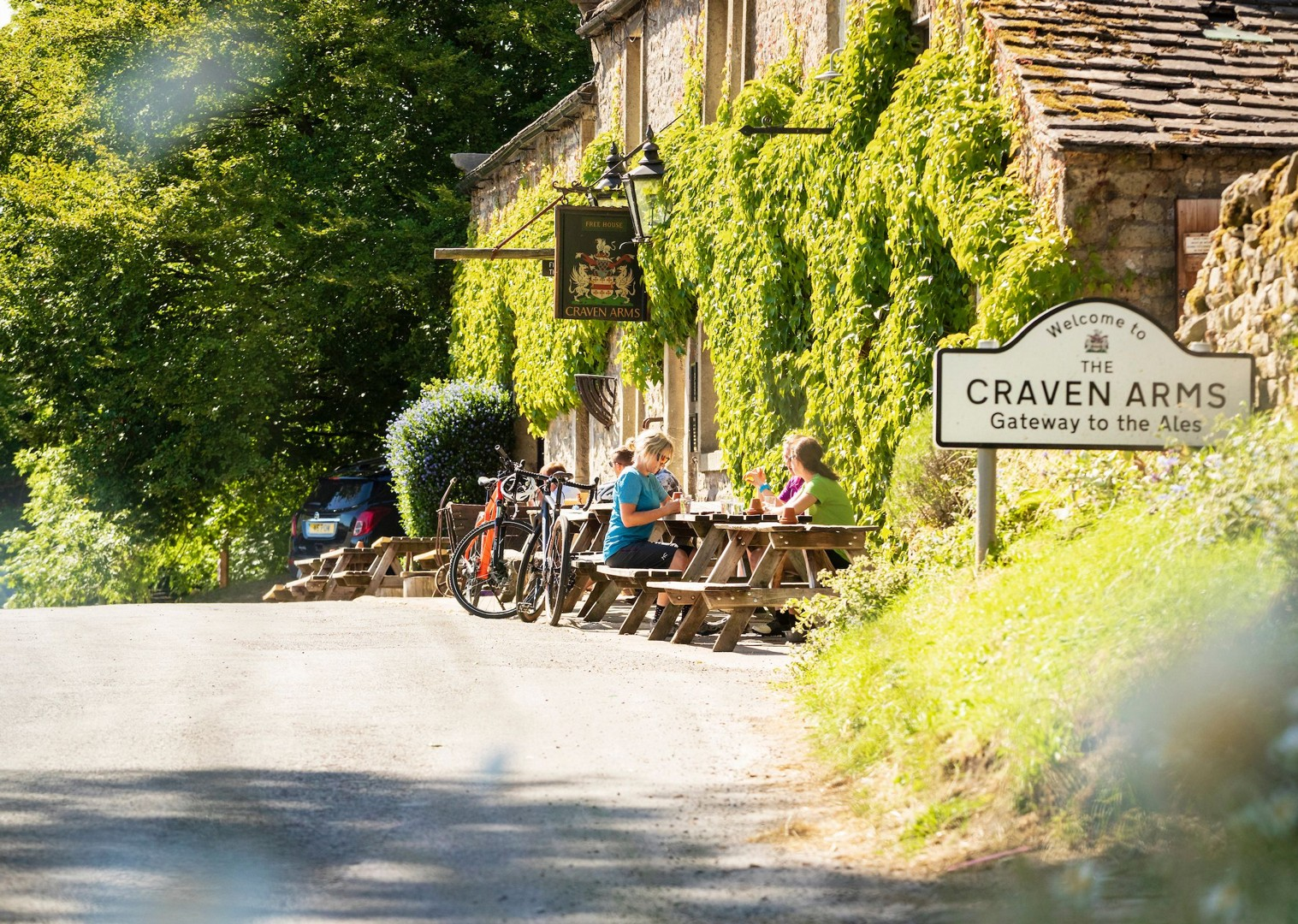 craven-arms-local-pubs-yorkshire-uk-cycling-tour.jpg - UK - Way of the Roses - Supported Leisure Cycling Holiday - Leisure Cycling