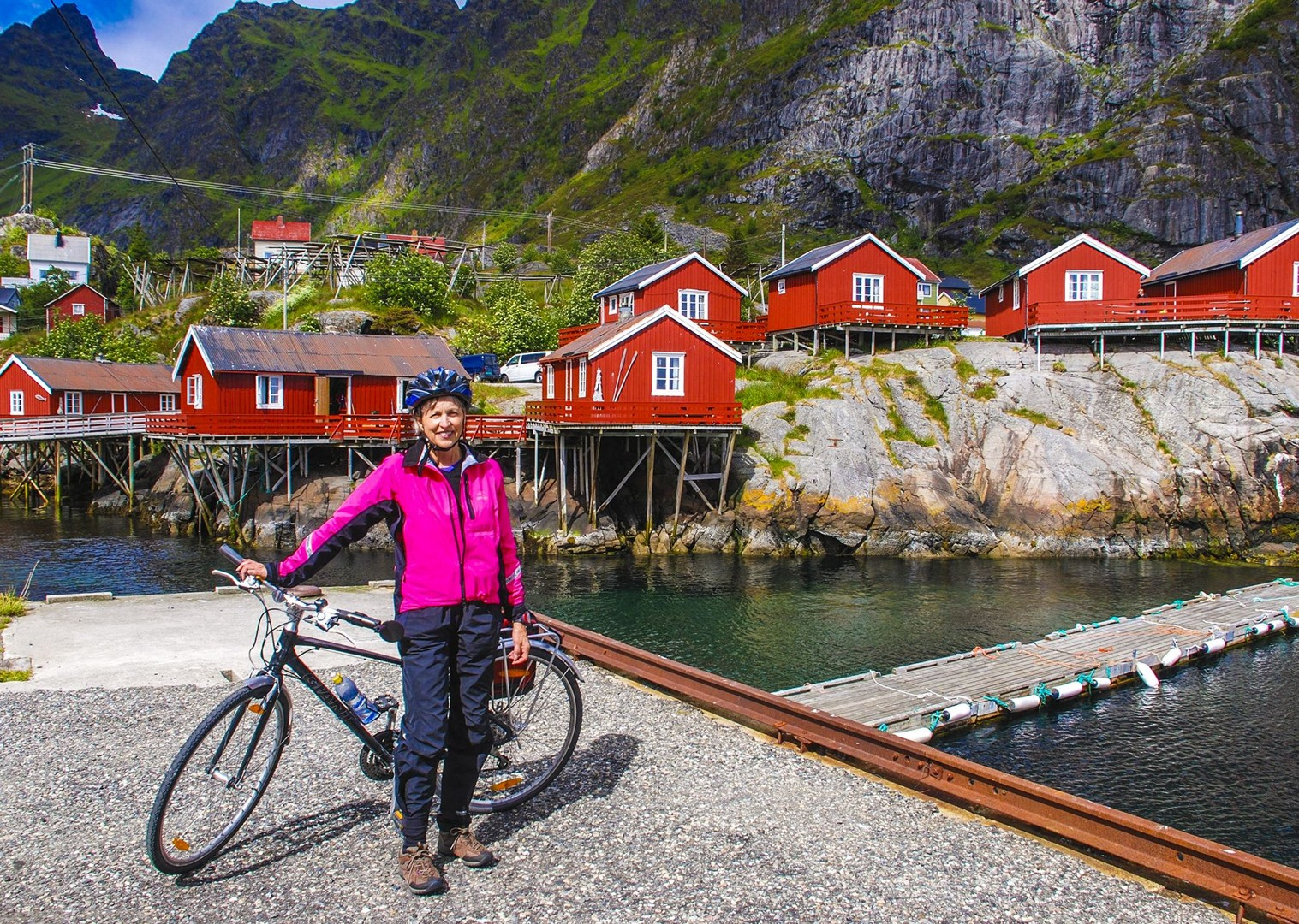 happy-leisure-cycling-journey-through-norway-local-accommodations.jpg - Norway - Lofoten Islands - Self-Guided Leisure Cycling Holiday - Leisure Cycling