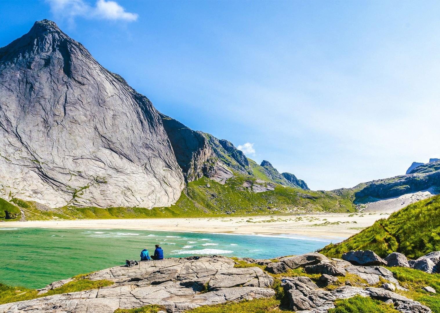beach-fun-self-guided-holiday-tour-mountains-relaxing-cycling-leisure-tour.jpg - Norway - Lofoten Islands - Self-Guided Leisure Cycling Holiday - Leisure Cycling