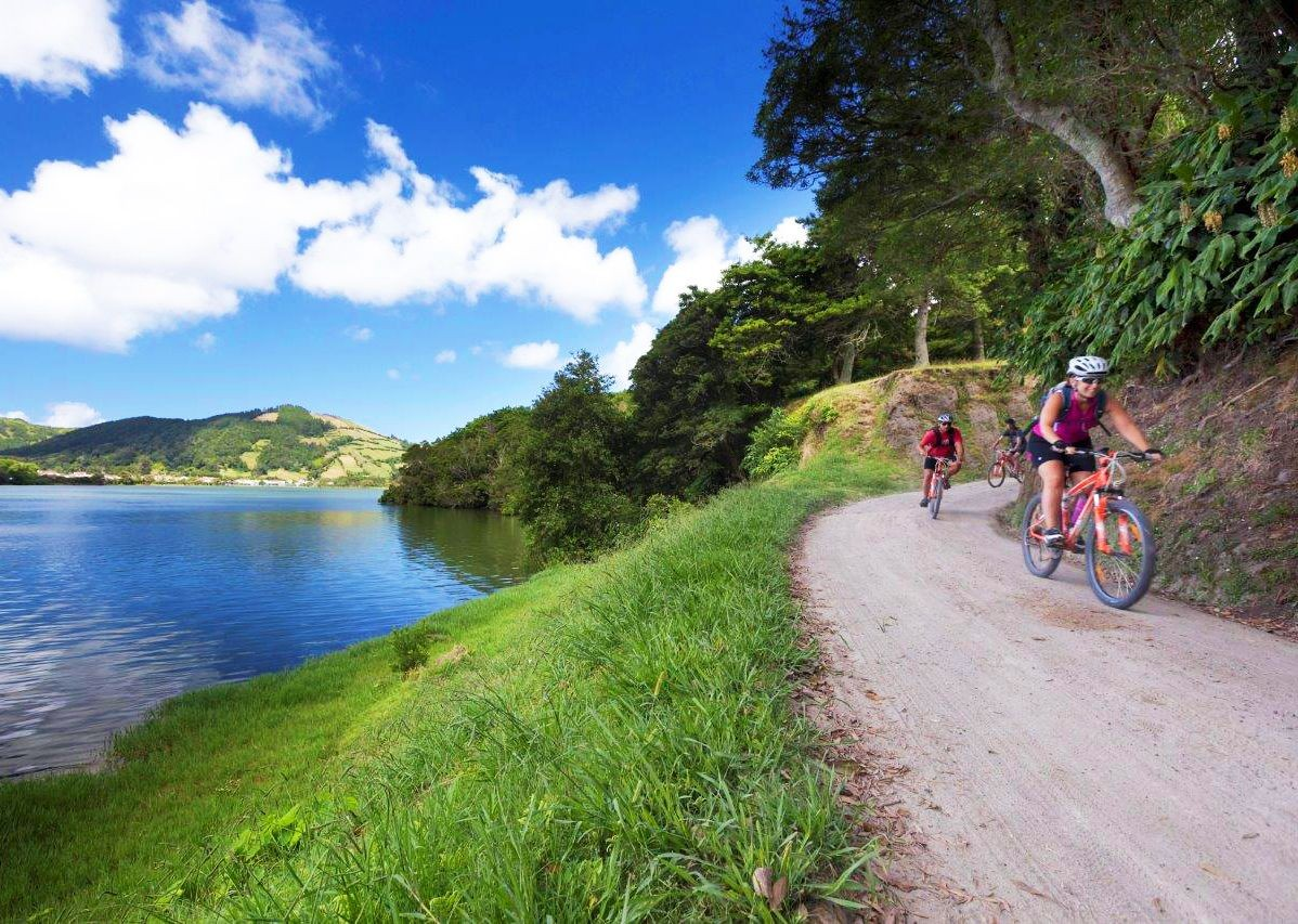 lake-of-sete-cidades-azores-self-guided-cycling.jpg - The Azores - Islands and Volcanoes - Self-Guided Leisure Cycling Holiday - Leisure Cycling