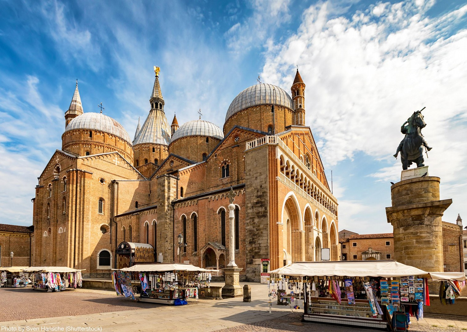 the-basilica-of-st-anthony-padua-italy-cultural-cycling-tour-self-guided.jpg - Italy - Lake Garda to Venice - Self-Guided Leisure Cycling Holiday - Leisure Cycling