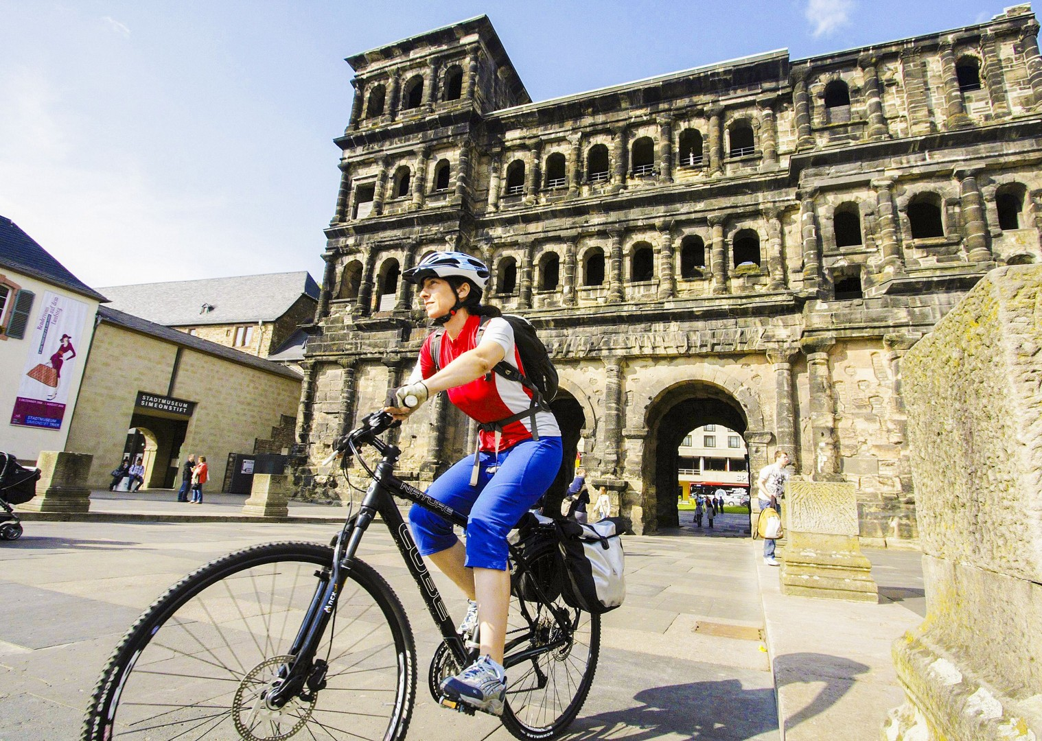 porta-nigra-roman-gate-trier-germany-cycling-tour.jpg - Germany - Moselle Valley - Self-Guided Leisure Cycling Holiday - Leisure Cycling