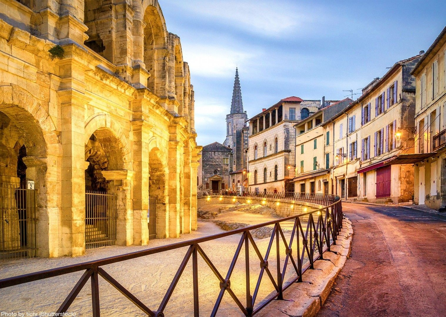 arles-amphitheatre-france-bike-and-boat-cycling-holiday.jpg - France - Provence - Self-Guided Leisure Cycling Holiday - Leisure Cycling