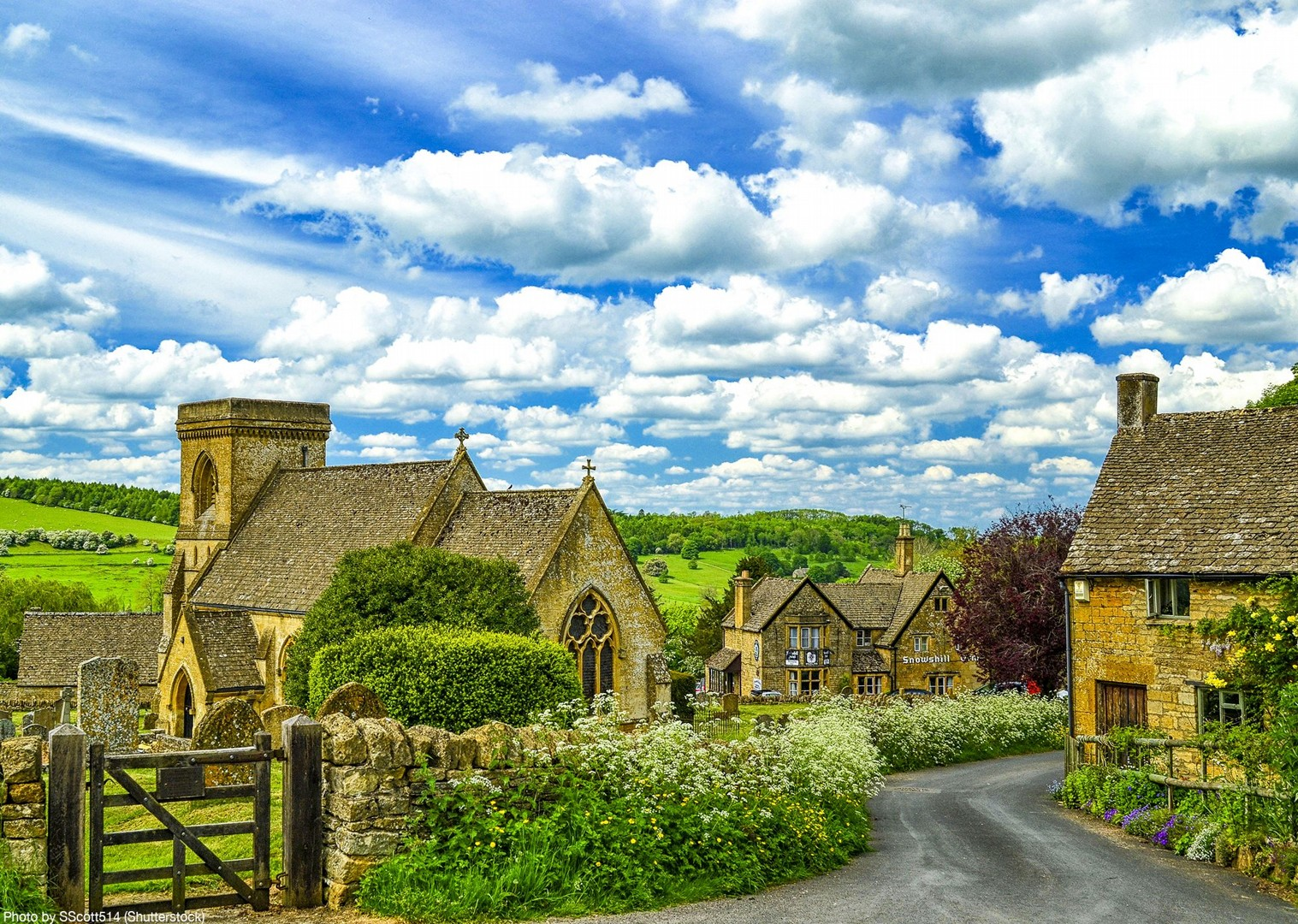 stow-on-the-wold-village-guided-cycling-bibury-leisure-bike-holiday.jpg - UK - Cotswolds - Bourton-on-the-Water - Guided Leisure Cycling Holiday - Leisure Cycling