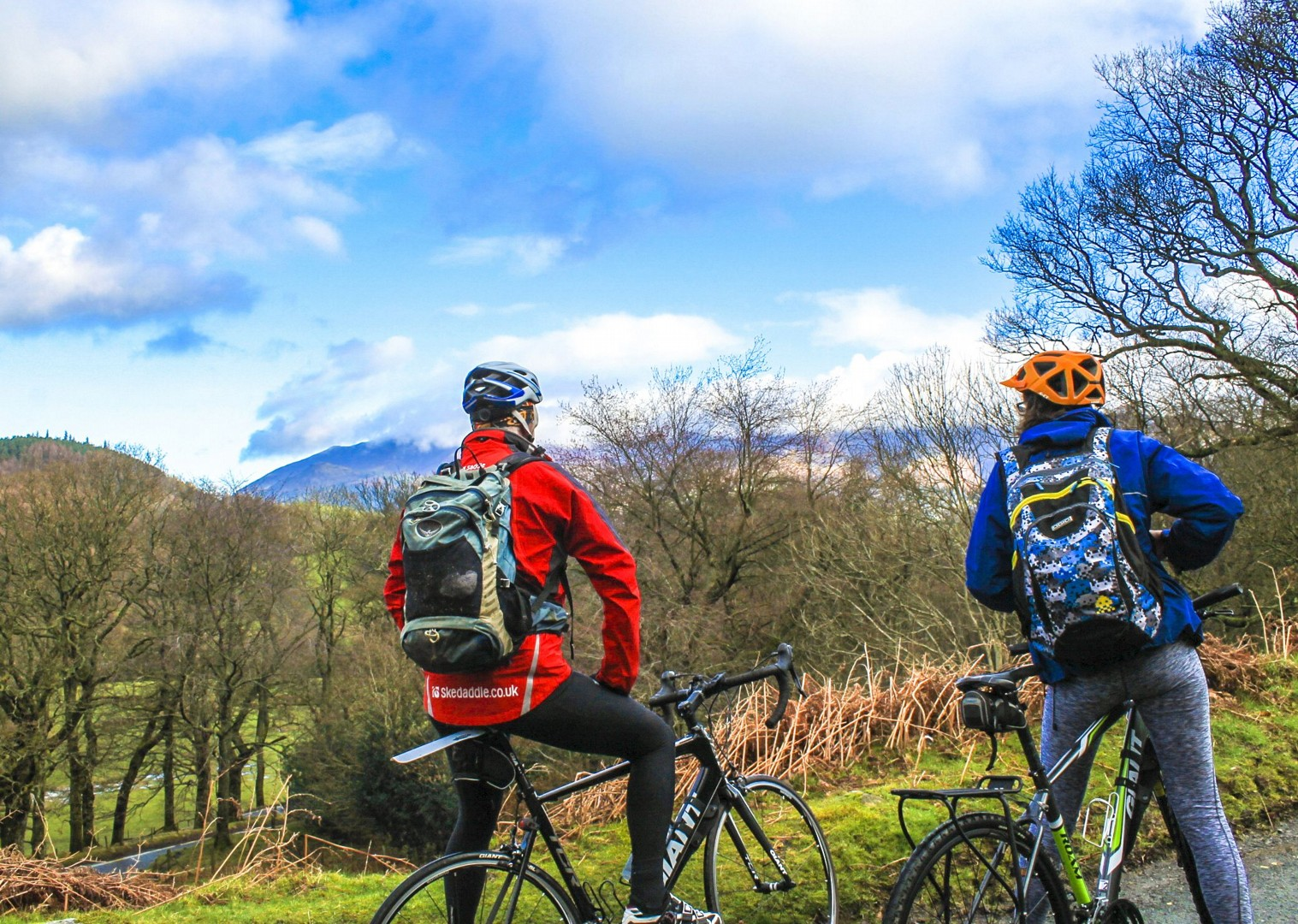 saddle-skedaddle-derwent-water-countryside-forest-lakes-mountains-bike.jpg - UK - Lake District - Derwent Water - Guided Leisure Cycling Holiday - Leisure Cycling