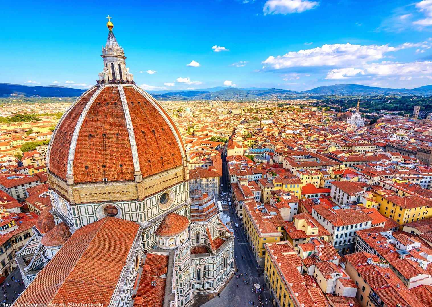 cathedral-de-santa-maria-del-fiore-florence-leisure-bike-tour.jpg - Italy - Tuscany - Pisa to Florence - Self-Guided Leisure Cycling Holiday - Leisure Cycling