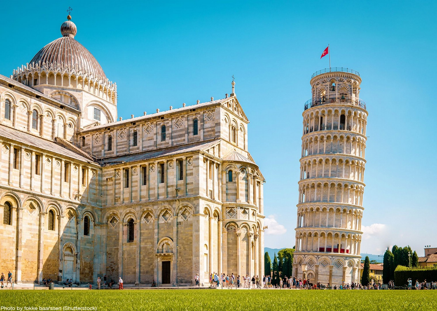 leaning-tower-of-pisa-cycling-tours-italy.jpg - Italy - Tuscany - Pisa to Florence - Self-Guided Leisure Cycling Holiday - Leisure Cycling