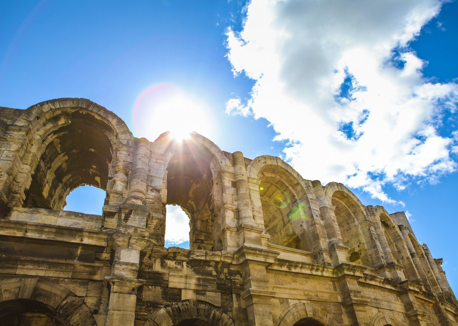 leisure-cycling-tour-arles-amphitheatre-unesco-world-heritage-culture.jpg - France - Provence - Aigues-Mortes to Avignon - Bike and Barge Holiday - Leisure Cycling