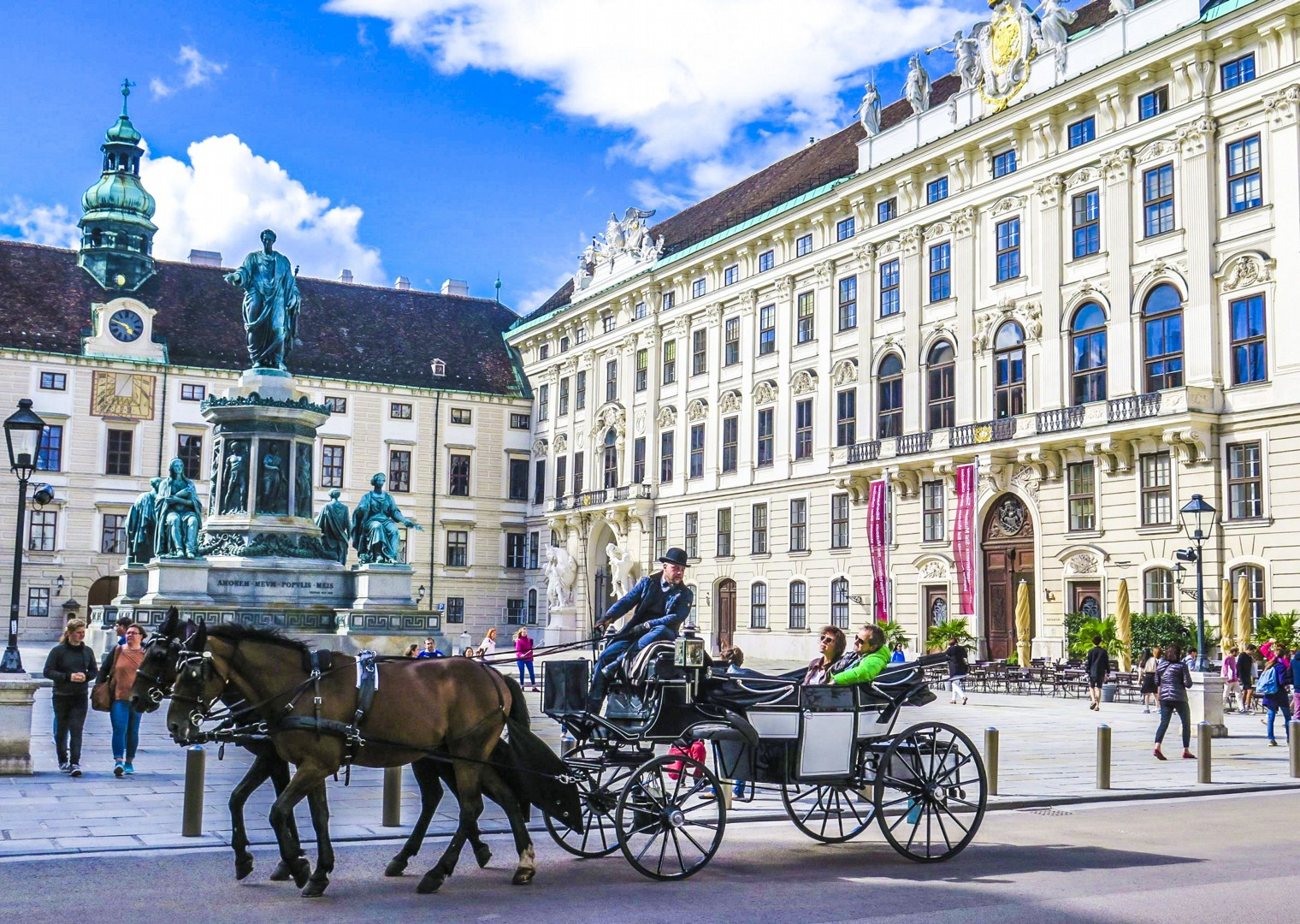 the-hofburg-palace-vienna-austria-bike-tour.jpg - Germany and Austria - The Danube Cycle Path - Supported Leisure Cycling Holiday - Leisure Cycling