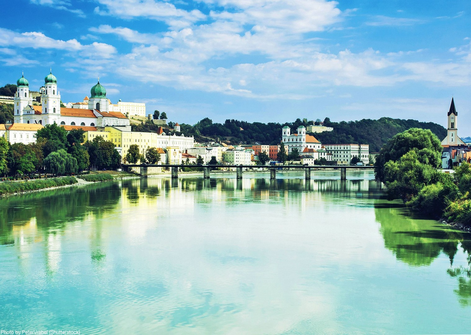 passau-bike-tour-danube-cycle-path-skedaddle.jpg - Germany and Austria - The Danube Cycle Path - Supported Leisure Cycling Holiday - Leisure Cycling