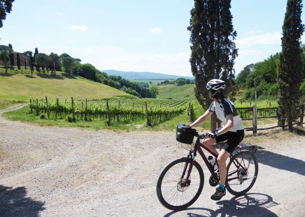 Guided-Leisure-Cycling-Holiday-Italy-Via-Francigena-Tuscany-to-Rome-stop-and-enjoy-the-view
