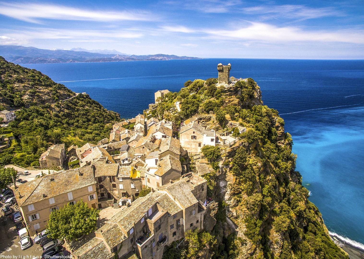 nonza-commune-village-france-corsica-west-cap-corse-cycling-tour.jpg - France - Corsica - Self-Guided Leisure Cycling Holiday - Leisure Cycling