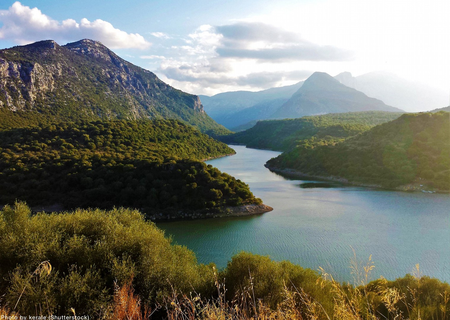 lake-flumendosa-sardinia-gentle-cycling-leisure-skedaddle.jpg - Italy - Sardinia - Coast to Coast - Self-Guided Leisure Cycling Holiday - Leisure Cycling