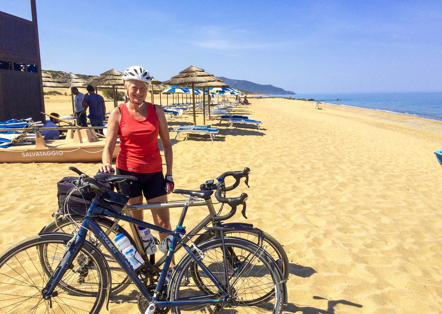 sunny-beaches-sardinia-italy-golden-sands-cycling-holiday.jpg - Italy - Sardinia - Coast to Coast - Self-Guided Leisure Cycling Holiday - Leisure Cycling