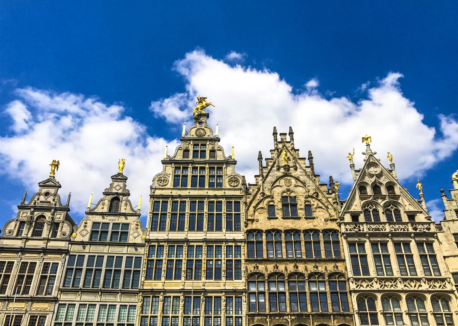 grote-markt-antwerp-belgium-visit-by-bike-and-barge.jpg - Holland and Belgium - Amsterdam to Bruges - Premium Bike and Barge Holiday - Leisure Cycling