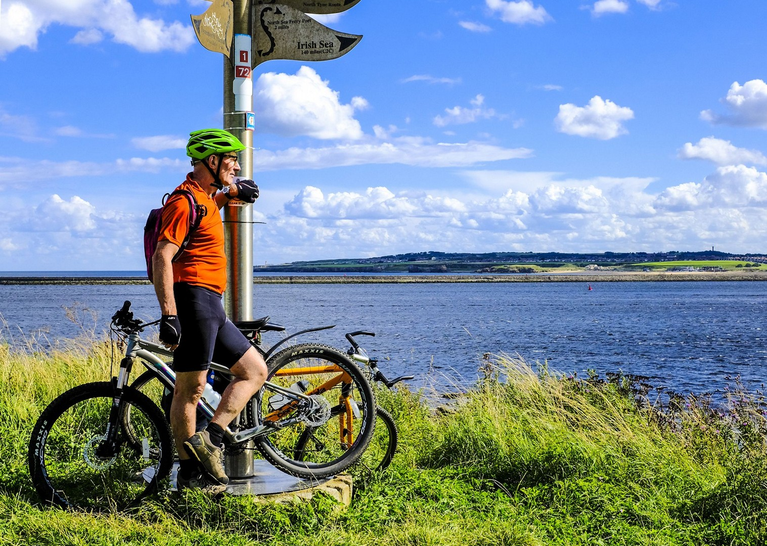 coast-to-coast-self-guided-3-day-holiday.jpg - UK - C2C - Coast to Coast 3 Days Cycling - Self-Guided Leisure Cycling Holiday - Leisure Cycling