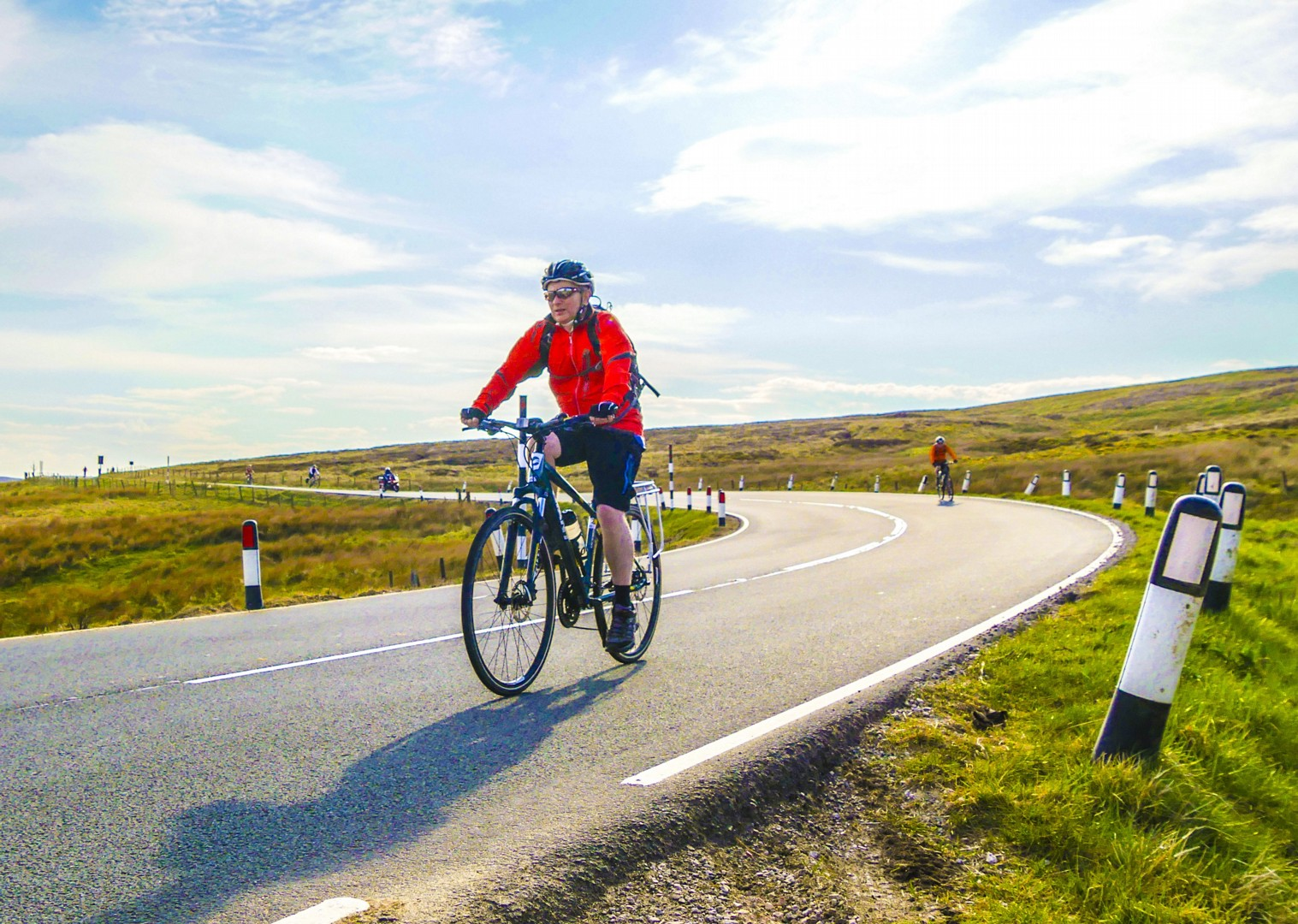 uk-cycle-fun-sunny-group-holiday-self-guided-easy-organised.jpg - UK - C2C - Coast to Coast 4 Days Cycling - Self-Guided Leisure Cycling Holiday - Leisure Cycling