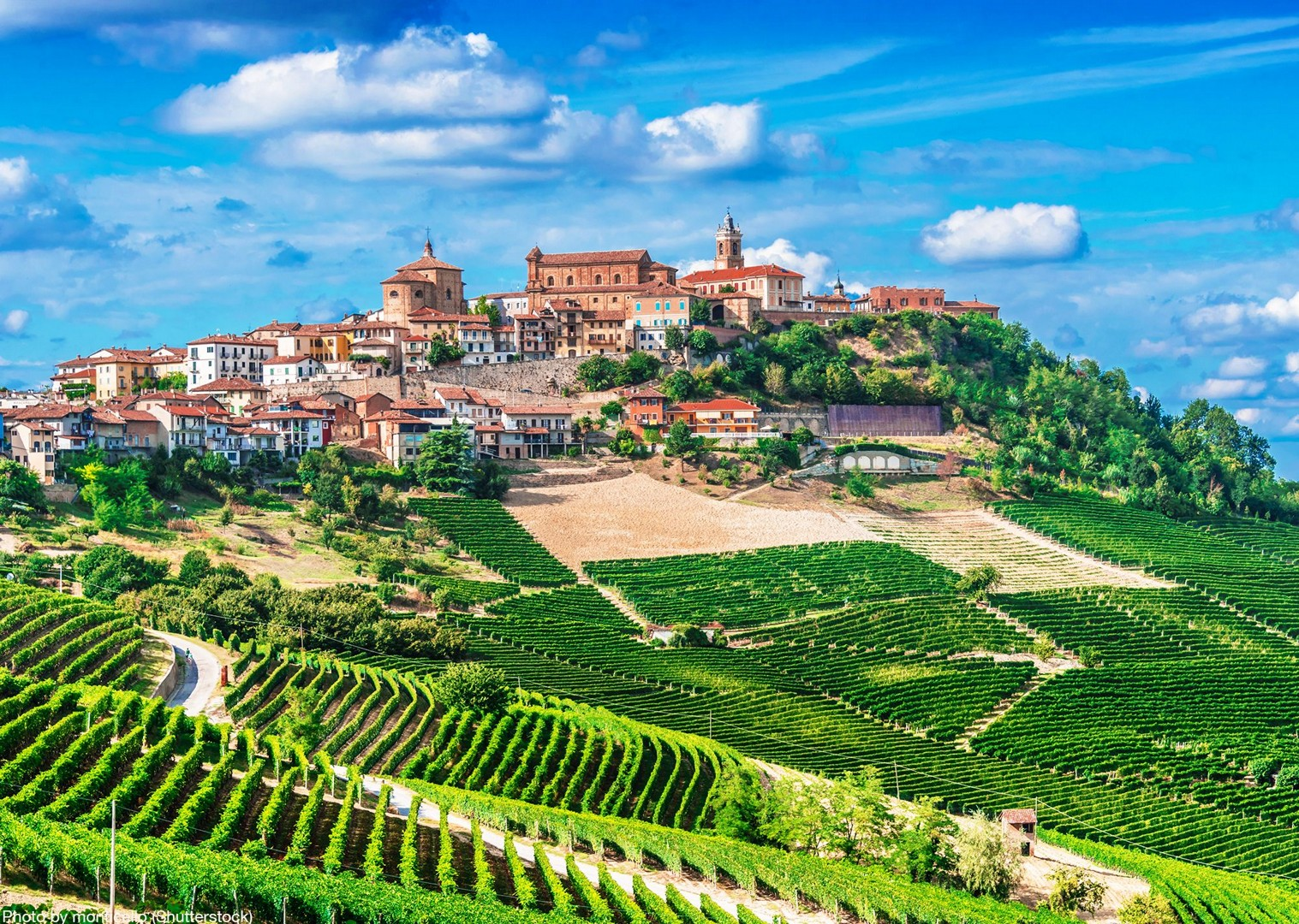 piemonte-italy-self-guided-cycling-holiday-explore-on-bikes-beautiful-towns.jpg - Italy - Piemonte - Vineyards and Views - Self-Guided Leisure Cycling Holiday - Leisure Cycling